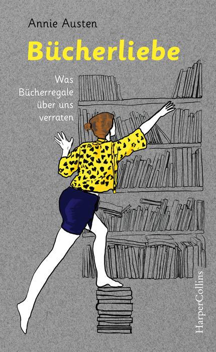 """Neuerscheinung: Buchcover von """"Bücherliebe"""" von Annie Austen"""