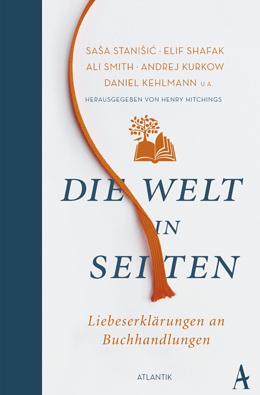 """Buchcover: """"Die Welt in Seiten"""" von Henry Hitchings"""